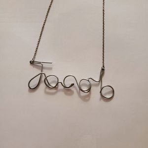 """Wire necklace """"jacob"""" for Sale in Dexter, ME"""