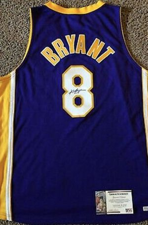 Kobe Bryant signed jersey with certification for Sale in Scottsdale, AZ