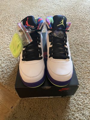 Jordan retro 5s size 5.5y brand new for Sale in Richmond, CA