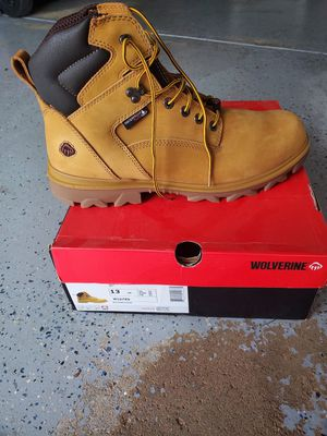 Brand new wolverine work boots size 13 for Sale in Amelia, OH