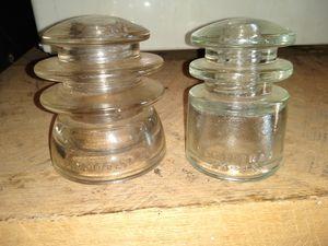 Antique Hemingray glass insulators for Sale in Anderson, SC