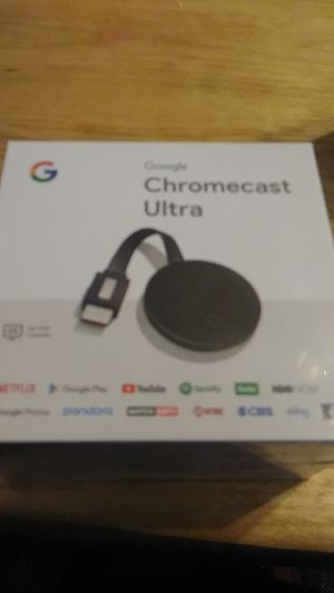 google chromecast ultra for Sale in Woonsocket, RI