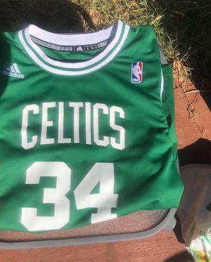 Celtics Paul Pierce Jersey #34 Adidas Size L for Sale in Plano, TX