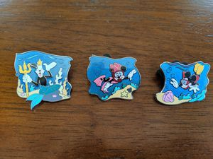 3 Disney Cruise line pins featuring Minnie Mouse, Mickey Mouse and Goofy for Sale in Glendale, AZ