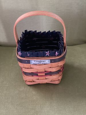 Longaberger inaugural basket for Sale in Franklin, IN