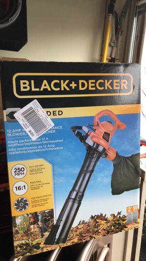 New leaf blower/ vac for Sale in Columbus, OH