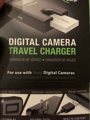 Digital Sony Camera Charger for Sale in Fresno, CA