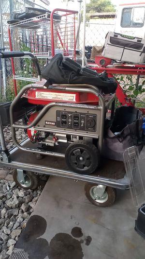 Black Max 3500 generator for Sale in Scottsdale, AZ