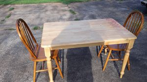 Table with two chairs for Sale in Greenville, SC