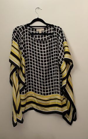 Michael Kors black and yellow tunic for Sale in Columbus, OH