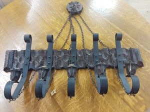 Vintage raw iron candelabra for Sale in Long Beach, CA