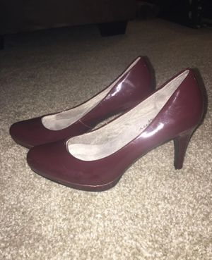 Life Stride Size 8 Red Heels for Sale in Fishers, IN