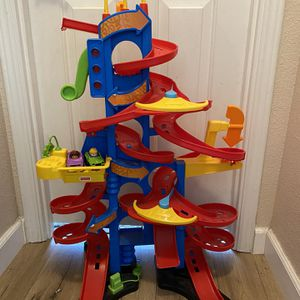 Fisher Price Take Turns Skyway Kids Play Toys Racetrack Cars Vehicles Racing for Sale in Lakeside, CA