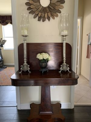 Antique Mohagony card table. 18th C. for Sale in Key Biscayne, FL
