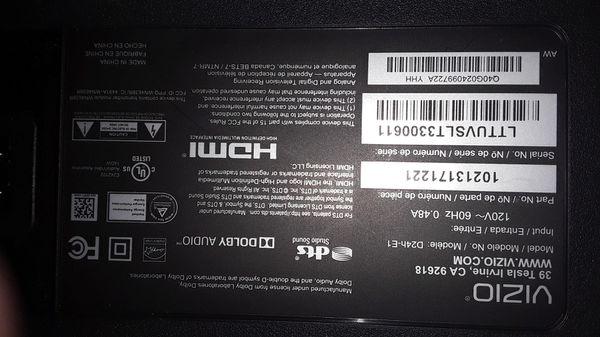"24""wide flat screen tv"