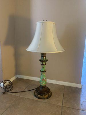 Ceramic & bronze lamp for Sale in Glendale, AZ