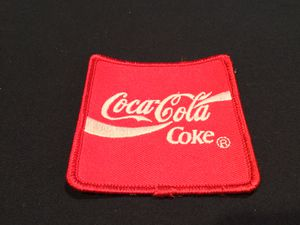 Vintage HTF Red Outer Piping Coca~Cola Coke Patch Collectible Americana - SHIPPING AVAILABLE for Sale in Burrillville, RI