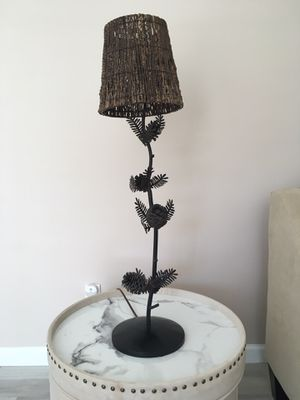 Palecek Table Lamp w/ Twig Shade for Sale in Clifton, NJ