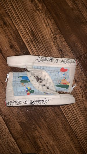 Toddler save our planet vans for Sale in Fort Leonard Wood, MO
