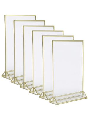 Clear acrylic frames - 2 packs of 6 for Sale in Alexandria, VA