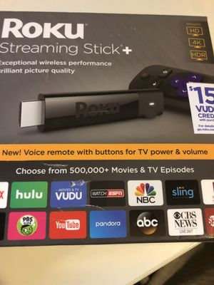 Roku Streaming Stick + for Sale in Tamarac, FL