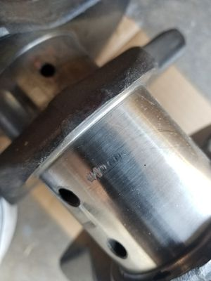 454 standard forged crank, has a ding but barely ran. for Sale in West Covina, CA