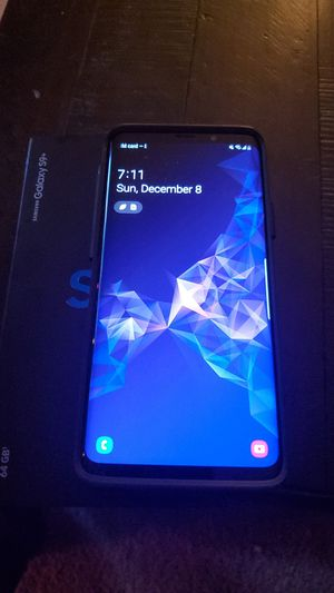 Samsung galaxy s9+ for Sale in Seattle, WA