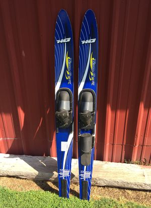 Set of HO brand double waterskis for Sale in Sanger, CA