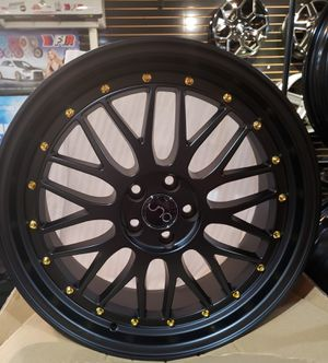 JNC rims on stock 5x112 5x114 5x120 5x100 financing available (no credit needed) for Sale in Philadelphia, PA