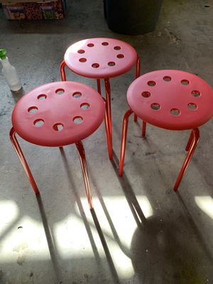 IKEA kids stools MARIUS for Sale in San Diego, CA