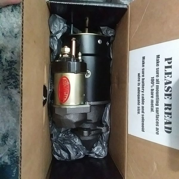 Chevy GM starter Powermaster New in box never used