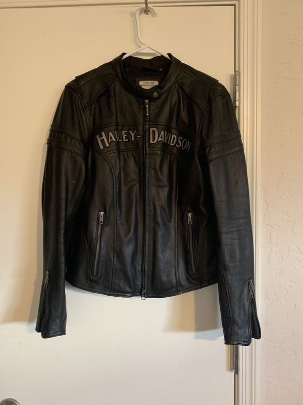 HD women's Miss Enthusiast 3N1 Leather Riding Jacket