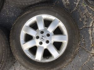 """Honda CRV wheels with snow tires 17"""" for Sale in North Providence, RI"""