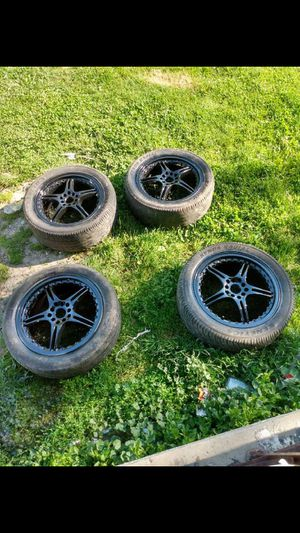 American racers 17 inch for Sale in Saginaw, MI