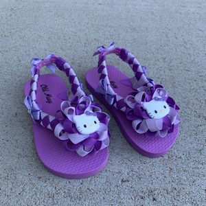 Handmade Purple Hello Kitty Sandal's for Sale in Thornton, CO