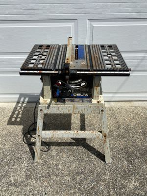 Delta table saw for Sale in Maple Valley, WA