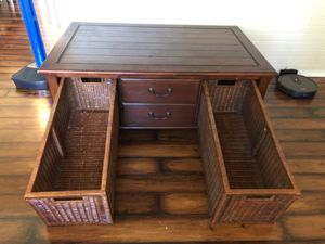 Coffee Table with Lots of Storage. for Sale in Clearwater, FL