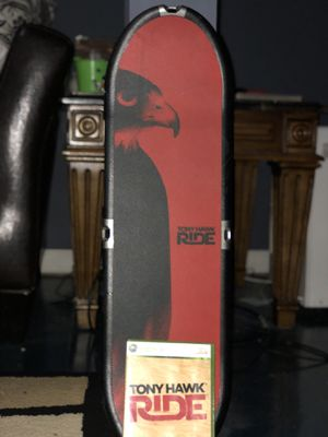 Tony Hawk Ride Xbox 360 and Wii fitness games for Sale in Galloway, OH
