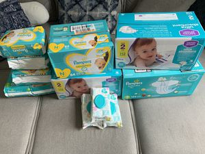 Pamper Brand Diapers And Wipes for Sale in Meriden, CT