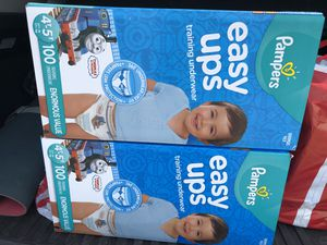 Pampers easy ups 4-5 T for Sale in Brookline, MA