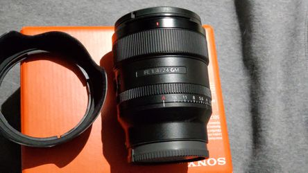 Sony FE 24mm f/1.4 GM Lens for Sale in South El Monte,  CA
