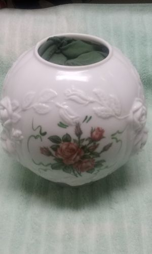 Antique milk glass lamp shade for Sale in Riverside, CA