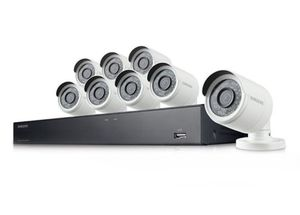 Samsung 8-Channel 1080p Full-HD 1TB Security Camera System for Sale in Austin, TX