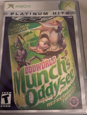 XBOX Oddworld Munch's Oddysee (Platinum Hits)! for Sale in Colorado Springs, CO