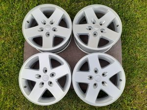 """Jeep Wrangler Wheels 17"""" (4) for Sale in Spring Hill, TN"""