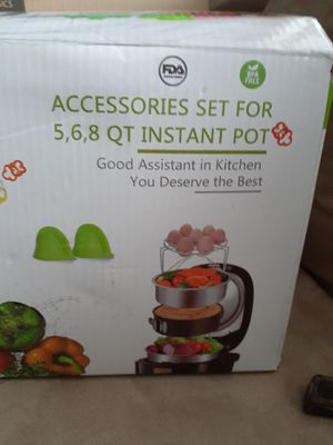 Mibote Accessories set for 5 6 8 quart instant Pot for Sale in Greenwood, IN