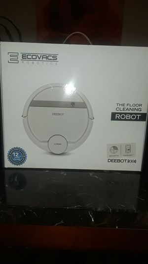 NEW 2019 ECOVACS ROBOTIC- DEEBOT 900 FLOOR AND CARPET VACUUM- $400.00 TOTAL SELL FOR $499.00 + TAX AT TARGETS IN HOUSTON, TEXAS for Sale in Houston, TX