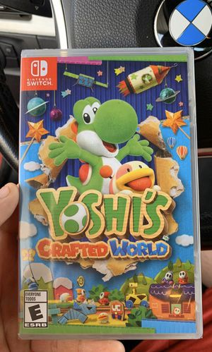 Yoshi crafted world (BrandNew) Nintendo Switch for Sale in Jurupa Valley, CA