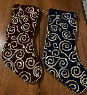Holiday stockings for Sale in Fort Mill, SC