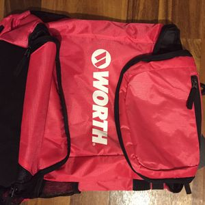 Spacious WORTH Bat Backpack (pink) for Sale in Norton, OH